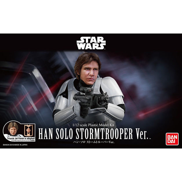 Star Wars 1/12 Han Solo Stromtrooper Ver. - Scale Model Kit