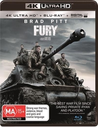 Fury on UHD Blu-ray image