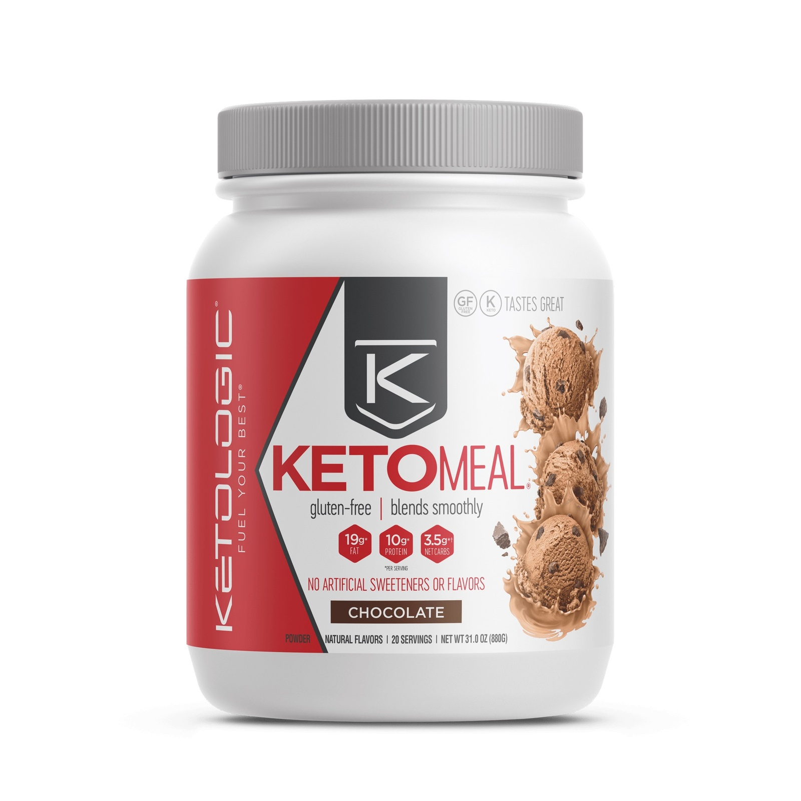 Ketologic: Keto Meal - Chocolate (16 Serves) image