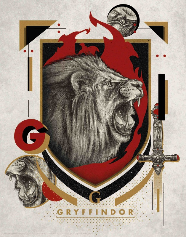 Harry Potter: Premium Art Print - Gryffindor