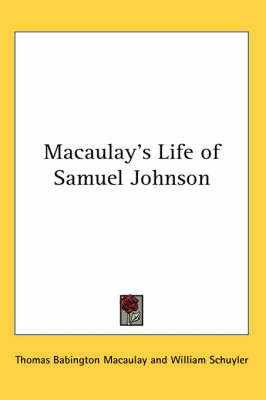 Macaulay's Life of Samuel Johnson by Baron Thomas Babington Macaulay image
