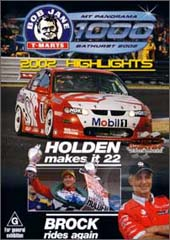 2002 Bob Jane Bathurst 1000 Highlights on DVD