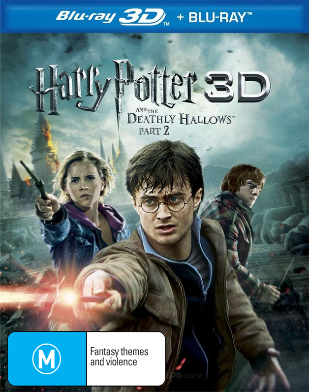 Harry Potter and the Deathly Hallows - Part 2 DVD