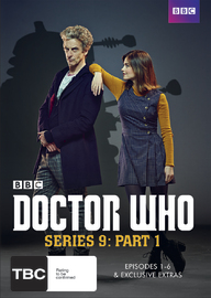 Doctor Who: Series 9 Part 1 on DVD