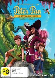 The New Adventures Of Peter Pan: Season 1 - Volume 1 on DVD
