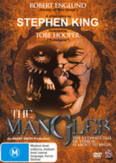 The Mangler on DVD
