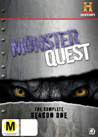 Monster Quest - The Complete Season 1 (4 Disc Set) on DVD
