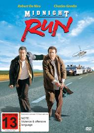 Midnight Run on DVD