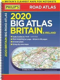 Philip's Big Road Atlas Britain and Ireland by Philip's Maps