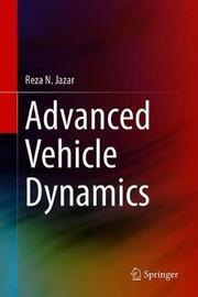 Advanced Vehicle Dynamics by Reza N. Jazar