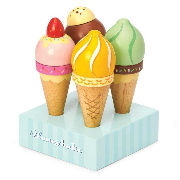 Le Toy Van: Honeybake - Ice Creams set