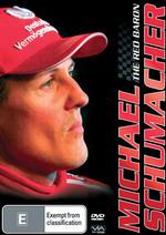 Michael Schumacher - The Red Baron on DVD