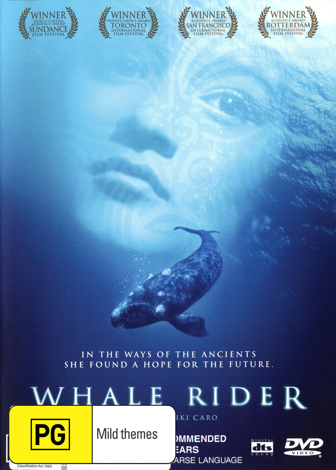 Whale Rider on DVD image