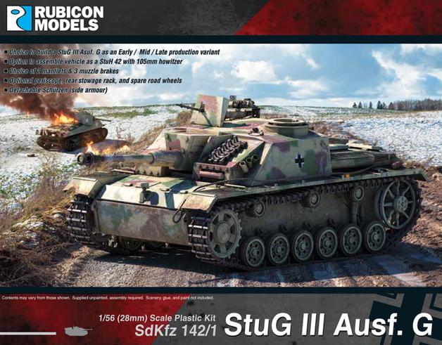 Rubicon 1/56 Stug III Ausf G
