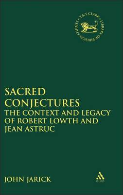 Sacred Conjectures by John Jarick