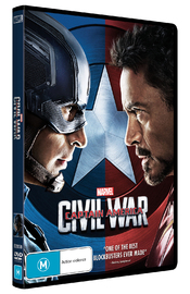 Captain America: Civil War on DVD image