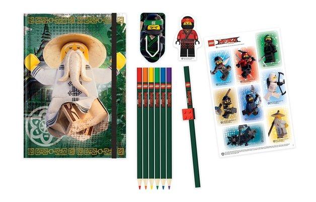 LEGO: Ninjago Movie - Deluxe Stationery Set