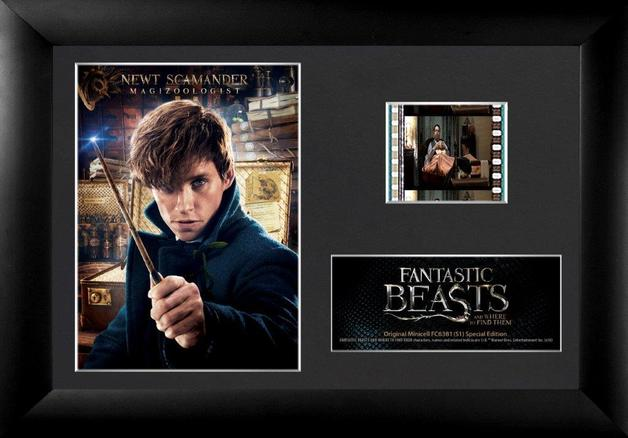FilmCells: Mini-Cell Frame - Fantastic Beasts (Newt Scamander)