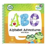 Leapfrog: Leapstart 3D Book - Alphabet Adventures with Music