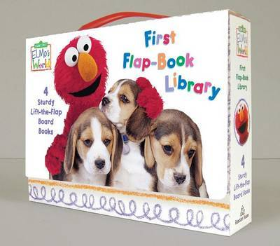 Sesame Street: Elmo's World First Flap-Book Library (4 Board Books) by Random House