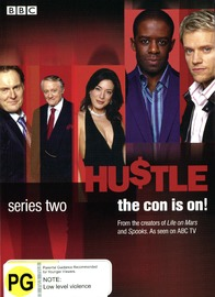 Hustle - Complete Series 2 (2 Disc Set) on DVD