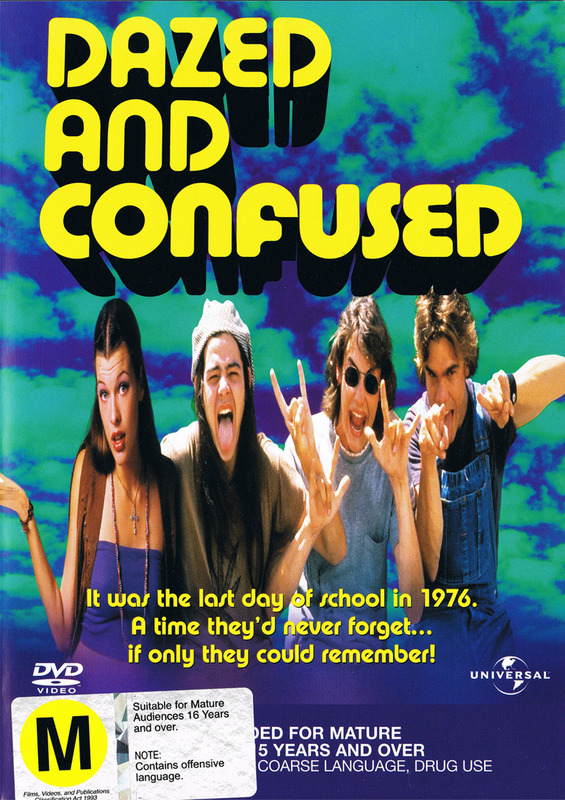Dazed & Confused on DVD