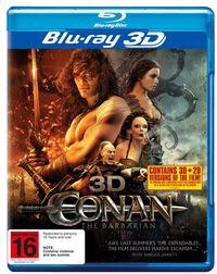 Conan the Barbarian 3D on Blu-ray, 3D Blu-ray