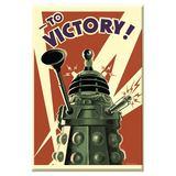 Doctor Who Dalek to Victory Fridge Magnet