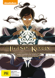 The Legend of Korra: Books 1-4 on DVD