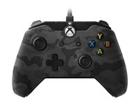 PDP Wired Controller - Camo Black for Xbox One