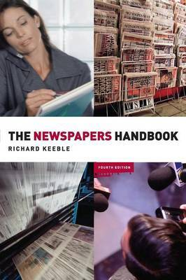 The Newspapers Handbook by Richard Keeble image