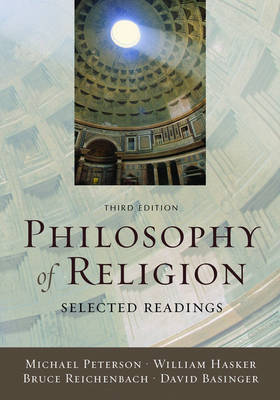 Philosophy of Religion by Michael Peterson image
