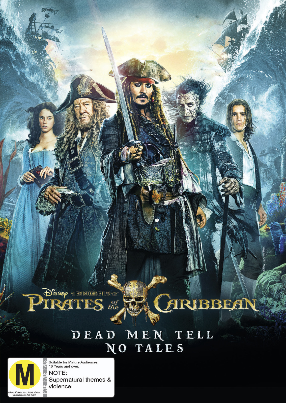 Pirates of the Caribbean: Dead Men Tell No Tales on DVD image