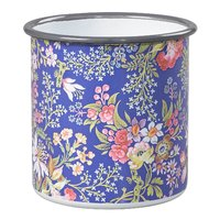 V&A Small Enamel Pot - Kilburn Blue