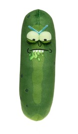 "Rick & Morty: Pickle Rick 7"" Plush - Biting Lip"