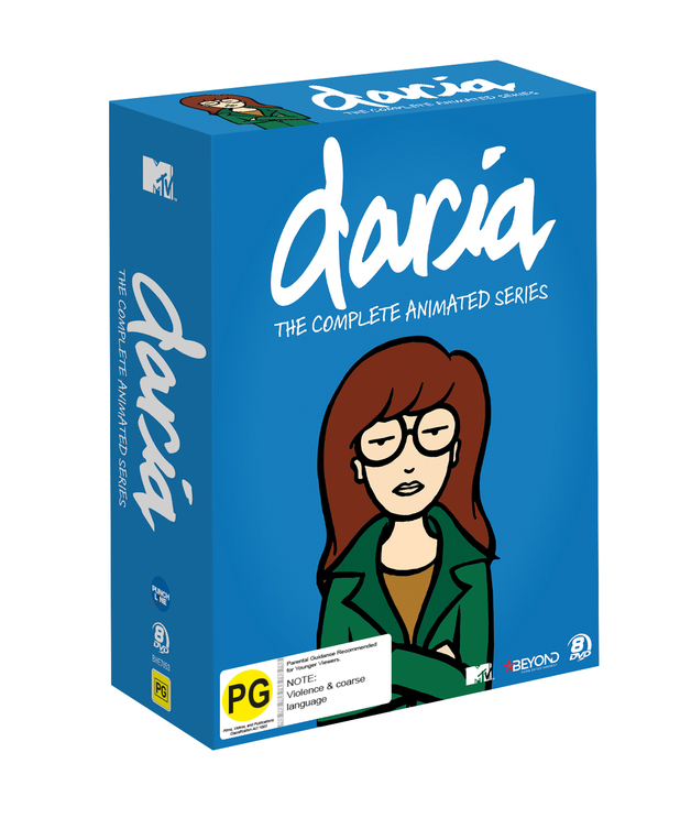 Daria: The Complete Animated Series Collector's Set on DVD