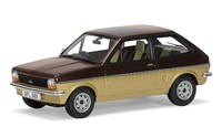 1:43 Ford Fiesta Mk1 1100cc - (Roman Bronze & Solar Gold) - Diecast Model