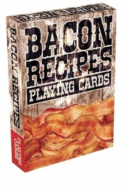 Bacon Recipes - Playing Cards