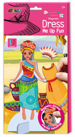 Avenir: Dress Me Up - Magnetic Sticker Kit (Tribal Princess)