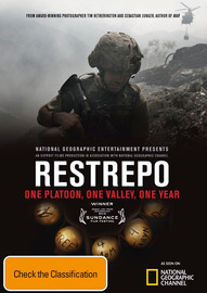 Restrepo on DVD