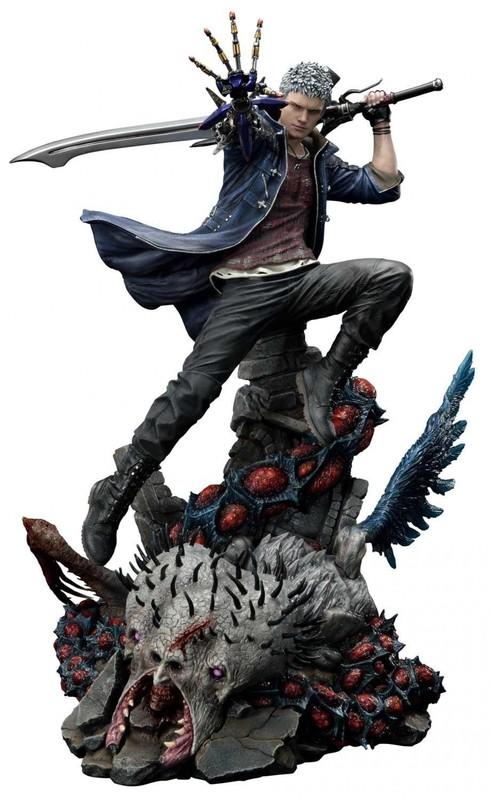 "Devil May Cry V: Devil Hunter Nero - 28"" Premium Statue"