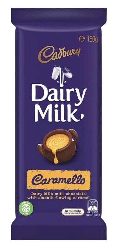 Cadbury: Dairy Milk - Caramello (15 x 180g)