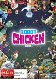 Robot Chicken - Season 4 on DVD