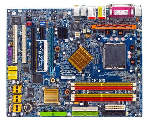 Gigabyte Motherboard LGA775 GA-8N-SLI Royal