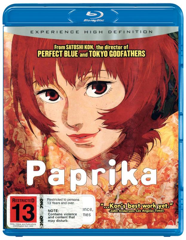 Paprika on Blu-ray