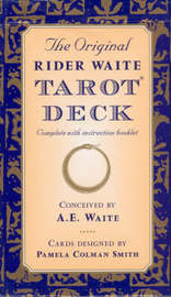 The Original Rider Waite Tarot Deck by Arthur Edward Waite