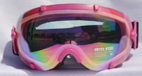 Mountain Wear Adult Mirrored Goggles: Pink (G2022)