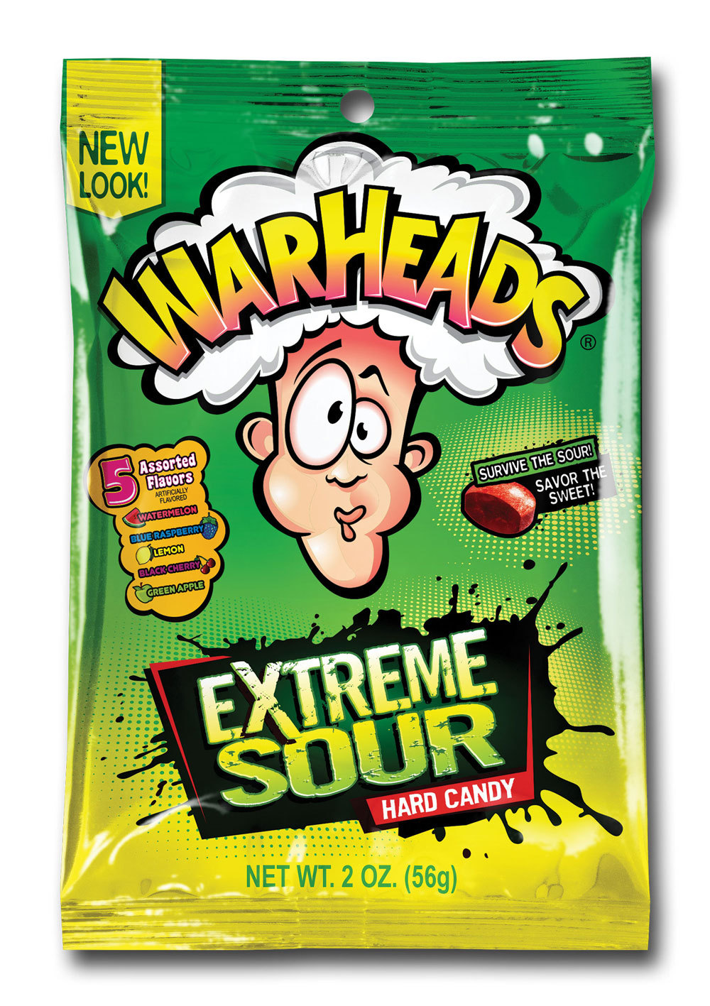 Warheads Extreme Sour Hard Candy (56g) image