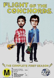 Flight of the Conchords - The Complete First Season on DVD image