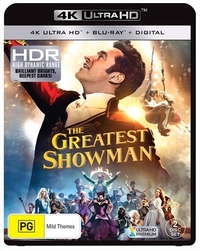 The Greatest Showman on UHD Blu-ray